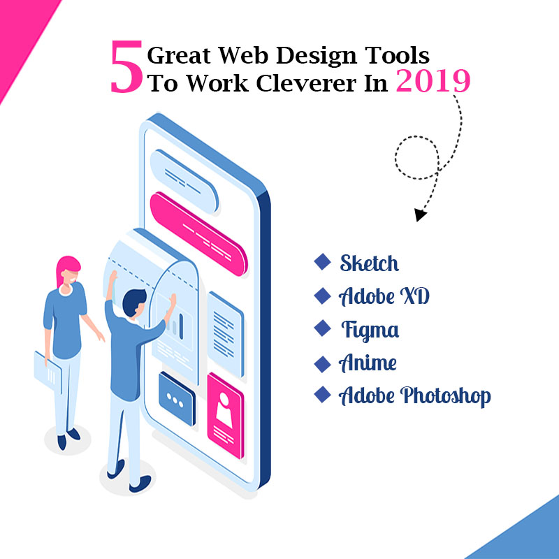 5 Great Web Design Tools To Work Cleverer In 2019 News Arihant Webtech
